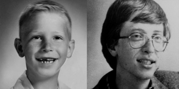 Bill Gates At Young Age Amazing Things In The World